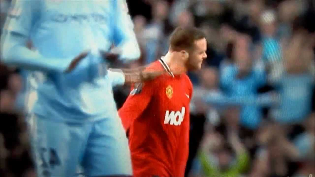 carlos tevez pulling wayne rooney 39 s ears manchester city v manchester united 2012 youtube. Black Bedroom Furniture Sets. Home Design Ideas