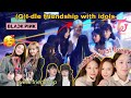 GI-DLE with Female idols Blackpink & Twice PART 1| Gidle social butterfly