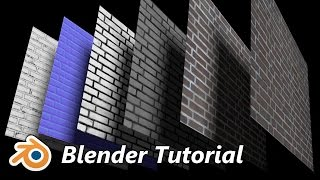 Blender 3D Tutorial - Mehrschichtige Materialien erstellen (Cycles, BGE, Blender Render) deutsch