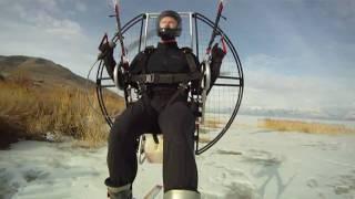World's Quietest Paramotor!!! Flat Top 120 Powered Paraglider Makes Paramotoring Even Quieter!!! thumbnail