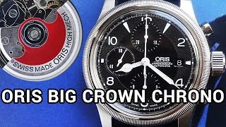 Oris Big Crown Automatic Chronograph Watch | Hands-On Video Review(, 2016-11-28T23:58:09.000Z)