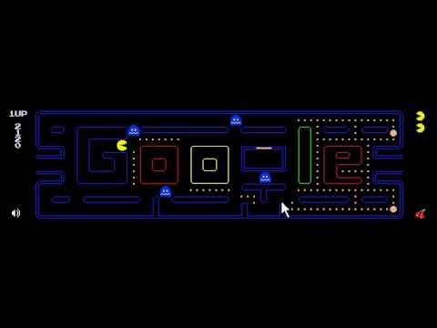 pacman 1980 google youtube
