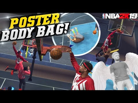 NBA 2K19 Park: 99 Contact Dunk! He Died From Getting BODIED! NBA 2K19 MyPark Gameplay