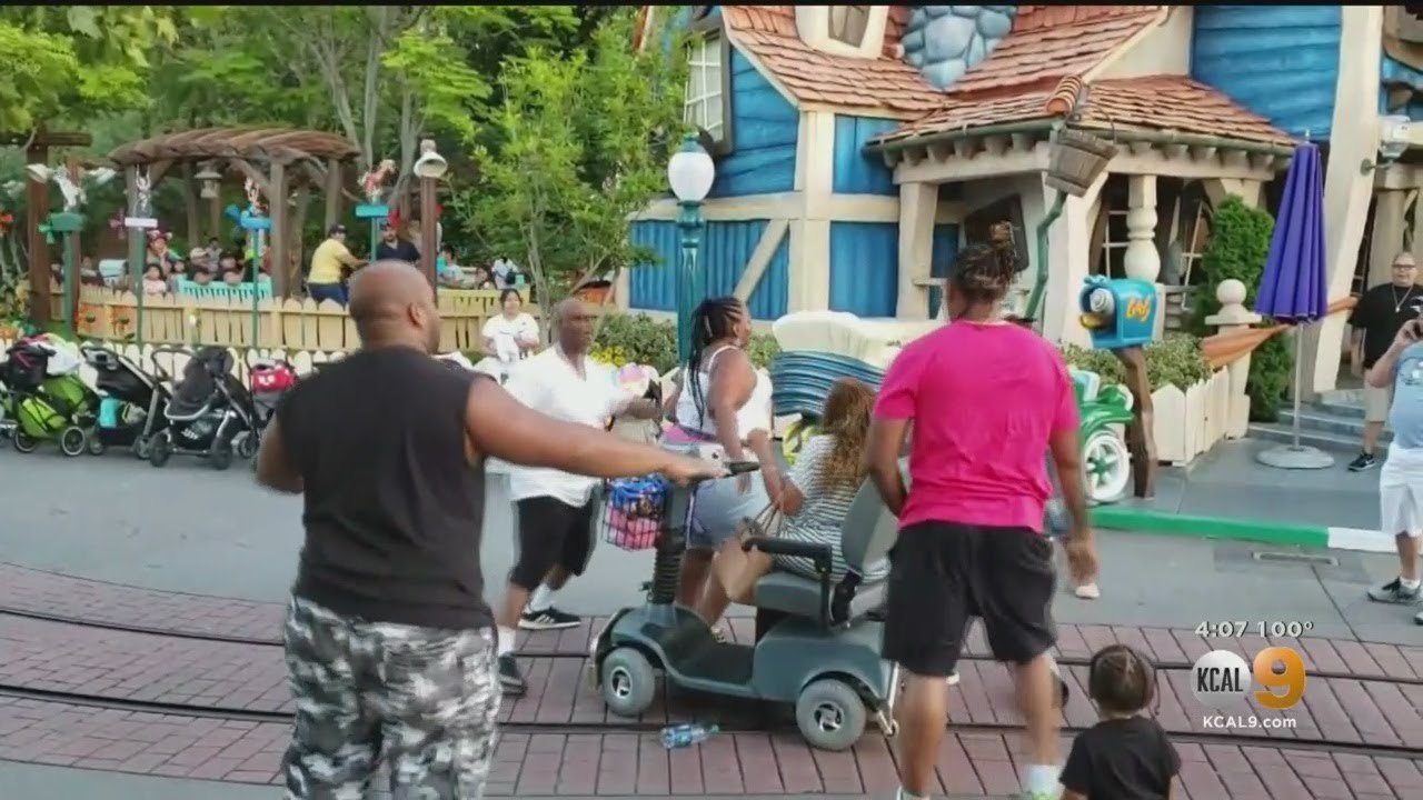 Three Family Members Charged In Disneyland Brawl Caught On Video