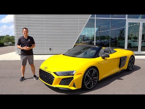 Is the 2020 Audi R8 Spyder the BEST daily driver SUPERCAR?