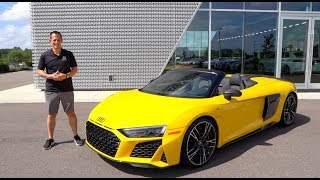 Is the 2020 Aขdi R8 Spyder the BEST daily driver SUPERCAR?