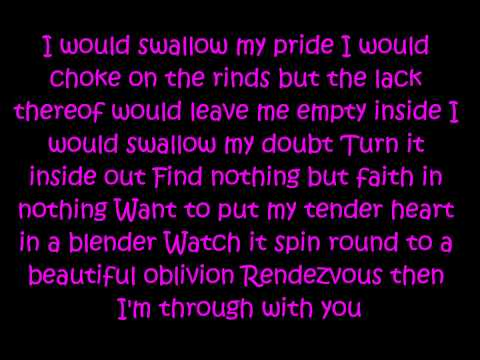 Eve 6- Inside out Lyrics