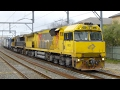 Australia: Freight Trains at North Strathfield, January 2017