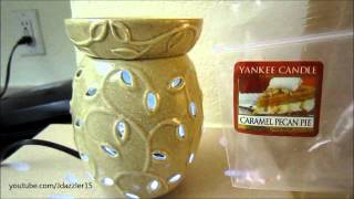 Yankee Candle Review: Caramel Pecan Pie