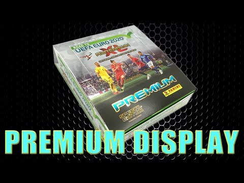 Panini ROAD TO EURO 2020 PREMIUM SPECIAL EDITION DISPLAY BOX ADRENALYN XL | UNBOXING I