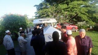 Zainuddin Maidin's remains brought to KL
