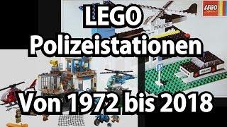 LEGO Polizei-Stationen von 1972 bis 2018 (und Unboxing City Polizeiwache 60141)