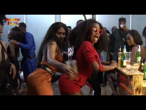 Image result for pictures of 2019 BBNaija first party