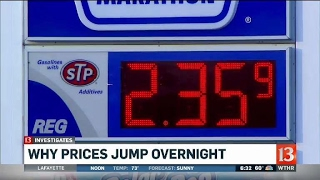 13 Investigates - why are gas prices always changing