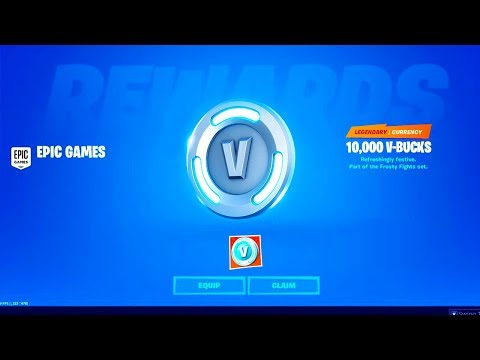 CLAIM Your 10,000 *FREE* V BUCKS NOW! Fortnite How To Get FREE VBUCKS In Chapter 2 (FREE V-BUCKS)