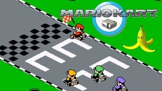 Mario Kart ... for the NES (sort of...)