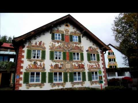 Painted Houses in Bavaria (HD1080p)