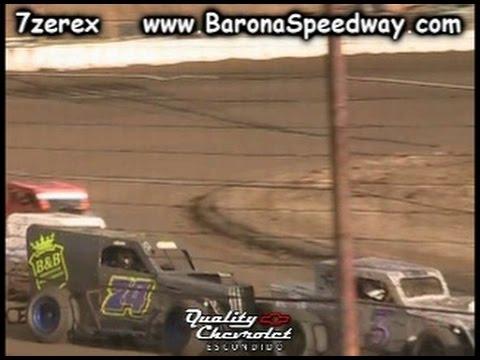 Dwarf Car Heat 1 Barona Speedway 3-25-2017