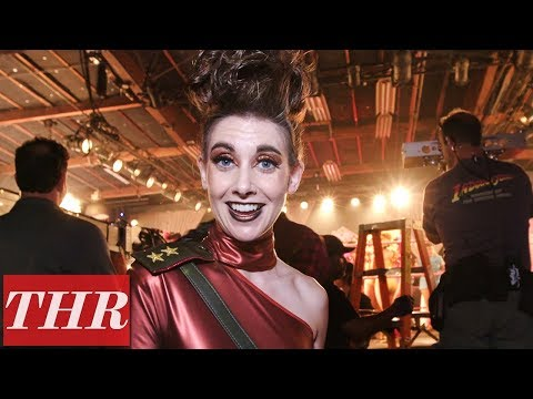 'Glow' Behind The Scenes Set Tour With Alison Brie | THR