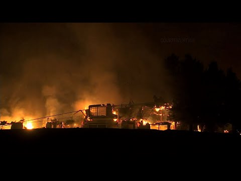 Wildfires Consume California Hotels