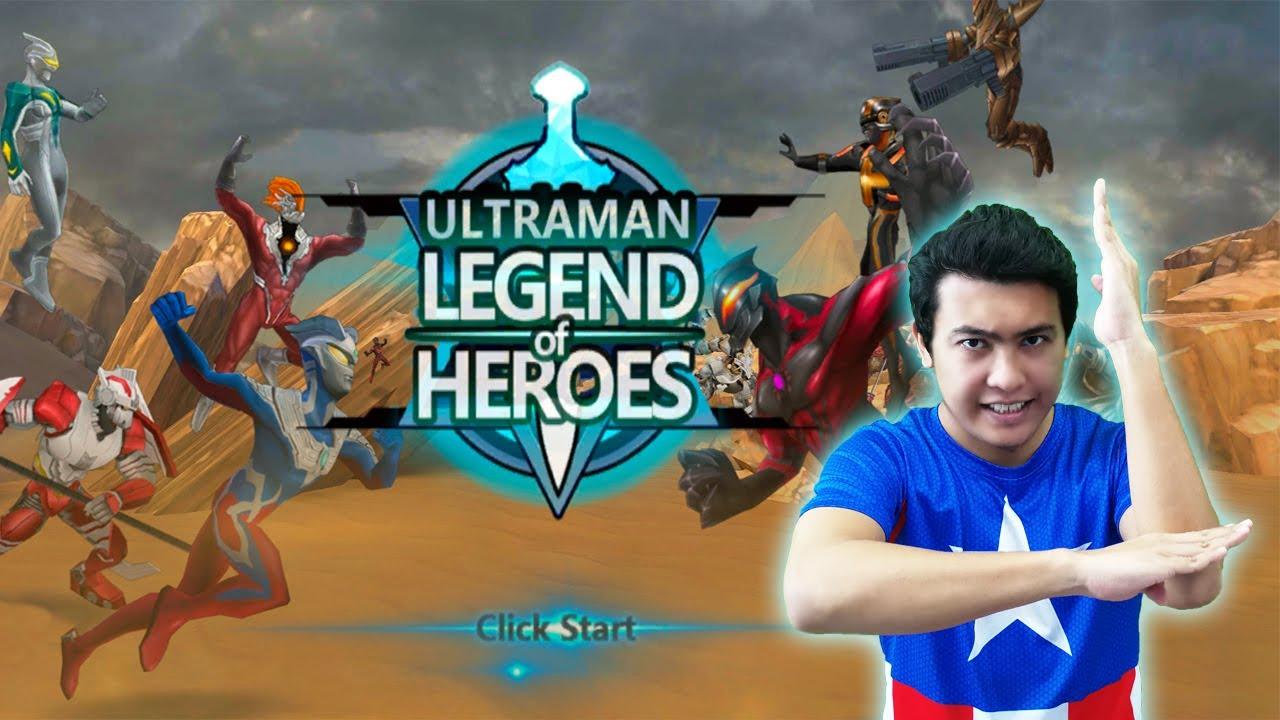BERTUKAR ! Ultraman : Legend of Heroes –  Android Gameplay Review