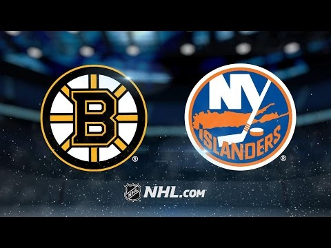 Nash's two goals lead Bruins past Islanders, 2-1