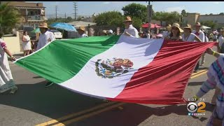 Heritage And History Celebrated At Mexican Independence Day Parade