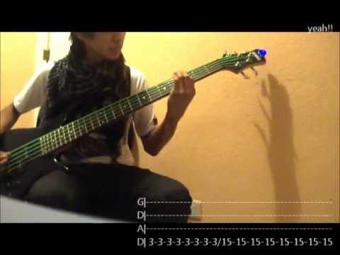 Paramore - Decode - Bass Cover - Lyrics & Tab Bass - Kenneth Jongezoon