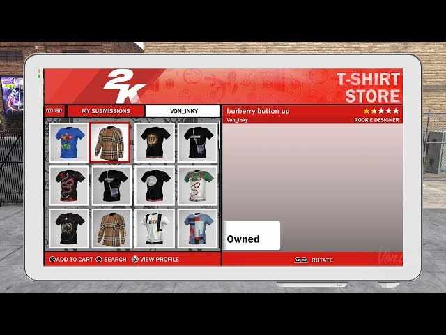 84ea7a3d5 NBA 2K18 Removed Custom Shirts Cause Controversy Over VC Reimbursement |  Player.One