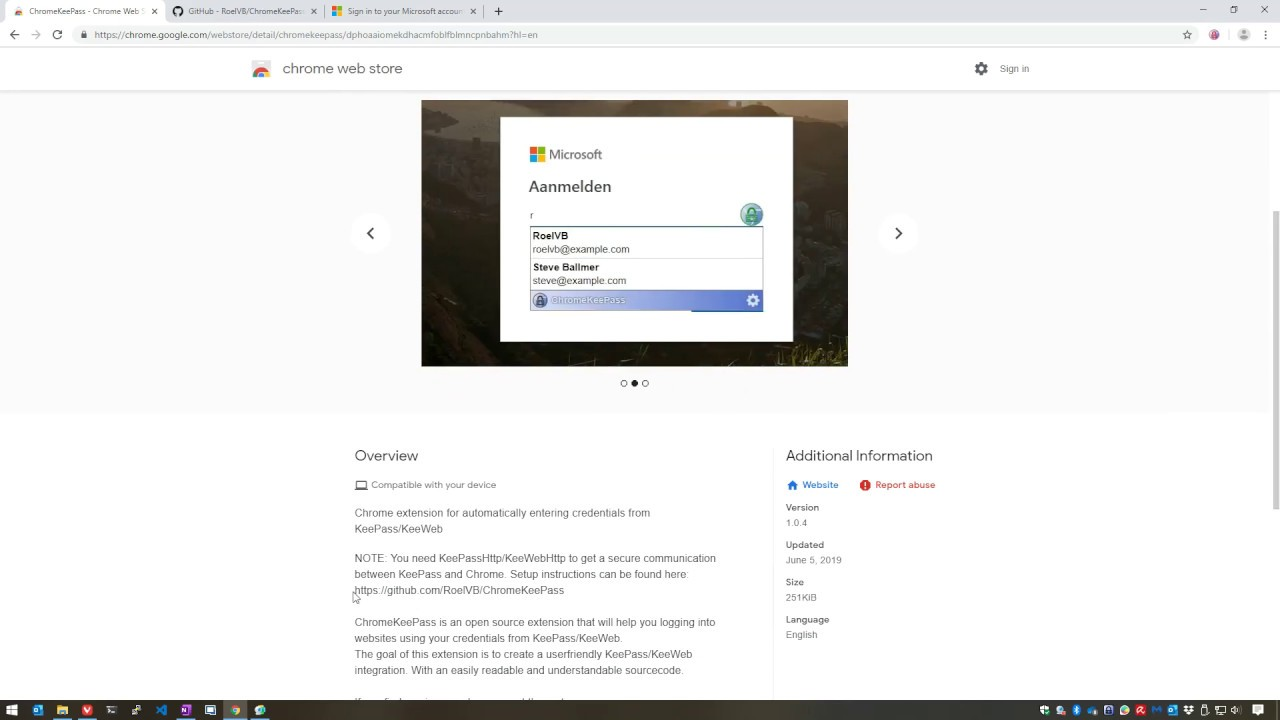 Setup KeePass to use it with Chrome (or any other compatible browser)