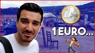 DEPENSER 1 EURO EN VIDE-GRENIER, C'EST POSSIBLE ! - Achats Jeux Vidéo n°57 [LIVE]