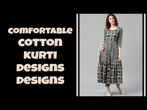 Comfortable Cotton Kurti Designs For Summer Part-2