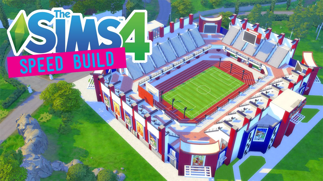 How To Build A Stadium In Sims