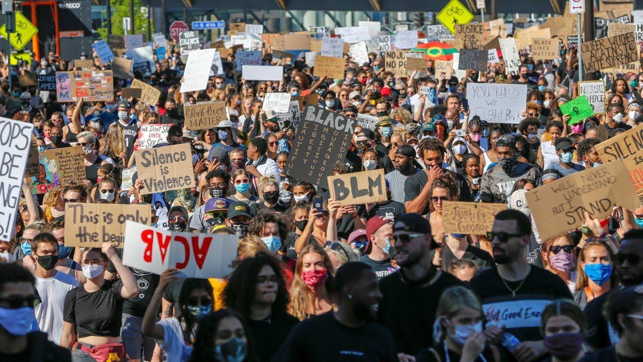 Трамп ралли USA Police Atlanta Seattle Stuttgart Minneapolis New York / Египет - Ливия / Коронавирус