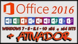 Microsoft Office 2016 Professional Plus Preview [ 32-64 bit ] + Ativador - [ PC ] Torrent