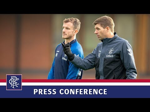 PRESS CONFERENCE | Steven Gerrard and Andy Halliday | 15 March 2019