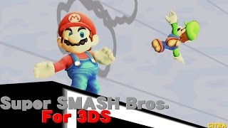 Super Smash Bros. for 3DS Ingame - Low CPU (Citra Unofficial Build)