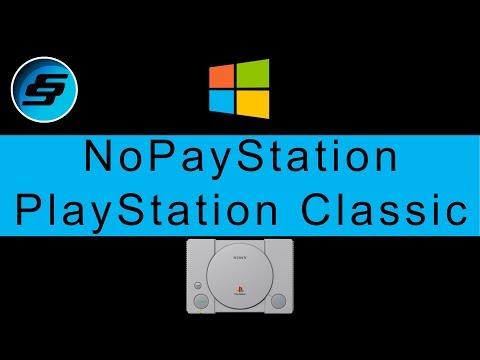 PlayStation Classic NoPayStation Browser (NPS - All Games Free) Windows Setup
