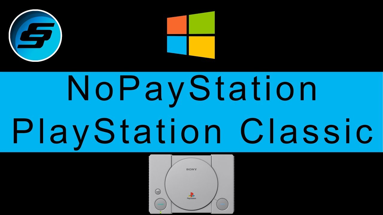 PlayStation Classic NoPayStation Browser (NPS - All Games Free) Windows  Setup