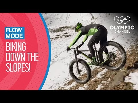 Download Youtube: Maxime Marotte doesn't let the snow stand in the way of Mountain Biking   Flow Mode