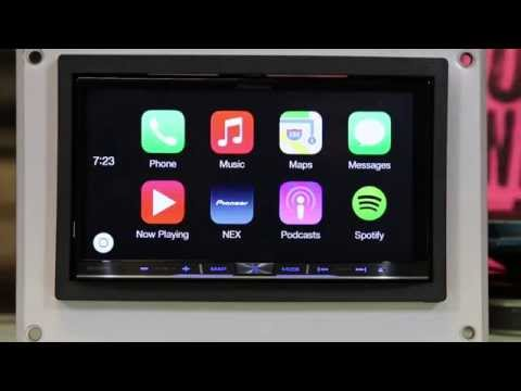 Elegant Apple CarPlay By Pioneer Review  First Test  Doovi