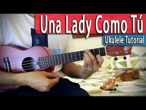 una lady como tu ukelele