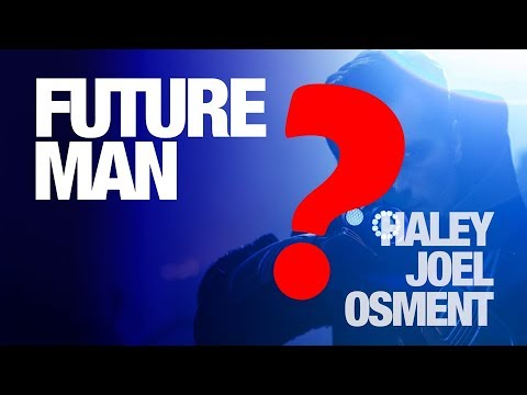 Haley Joel Osment Loves Being Evil - Future Man - #NYCC2017