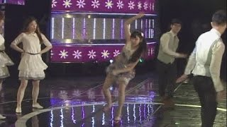 IU Incident - Almost Slipped on Stage at MBC DMZ Peace Concert