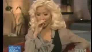 Christina Aguilera Interview Ellen Degeneres Show 2007 part 2