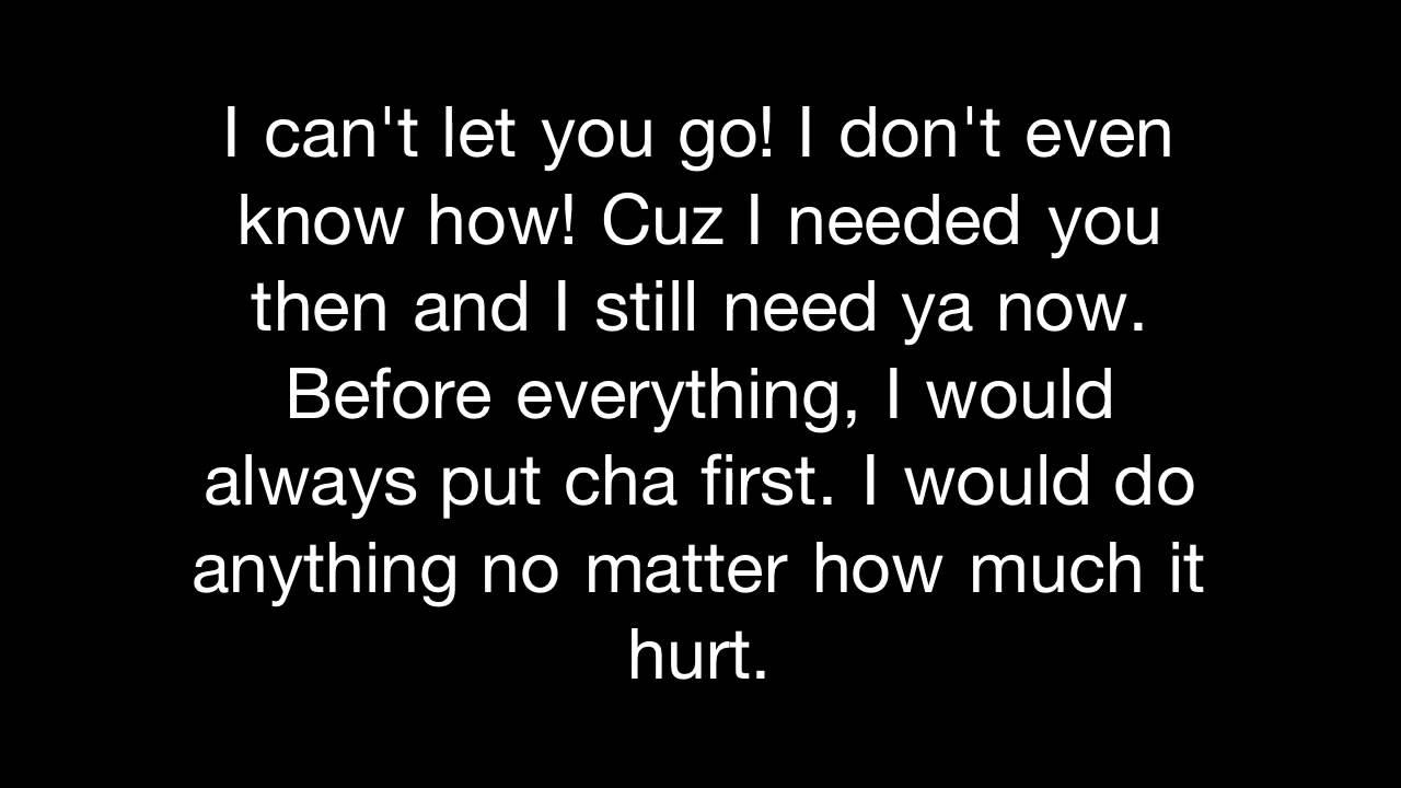 I miss you i need you lyrics