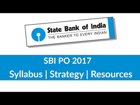 SBI PO Syllabus, Strategy and Resources for exam preparation [ In Hindi]