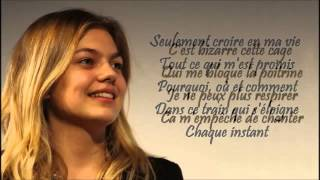 Louane   Je vole paroles