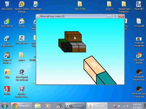 Minecraft Logo Maker 2 0 Youtube
