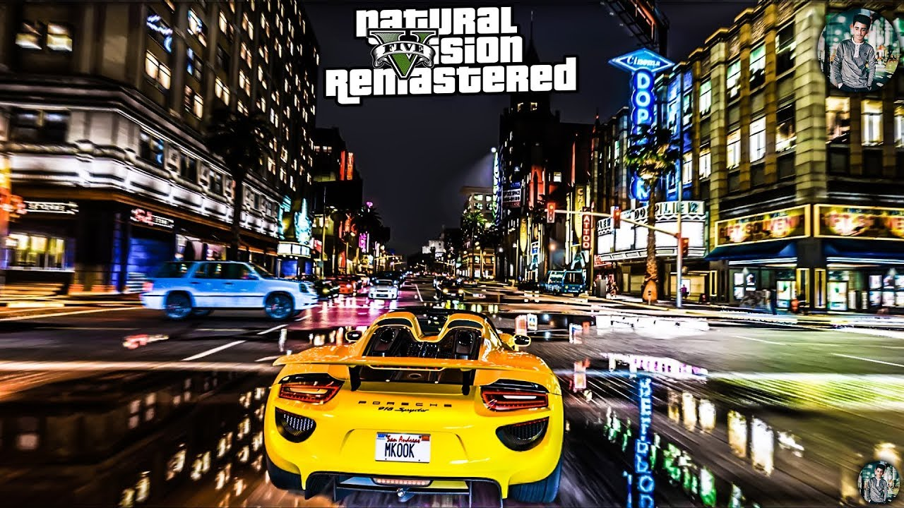5e48ee38248 GTA 5 -EVE- Real Life Graphics mod NaturalVision Remastered - Gameplay GTX  1060